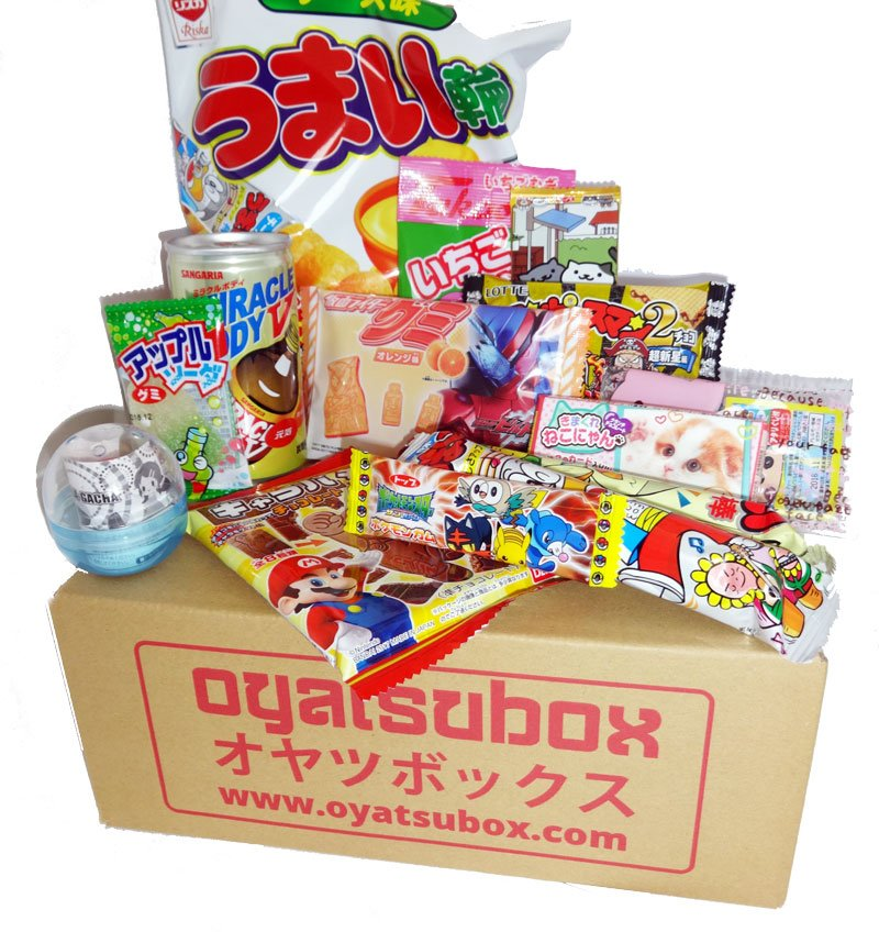 April Japanese Food Box