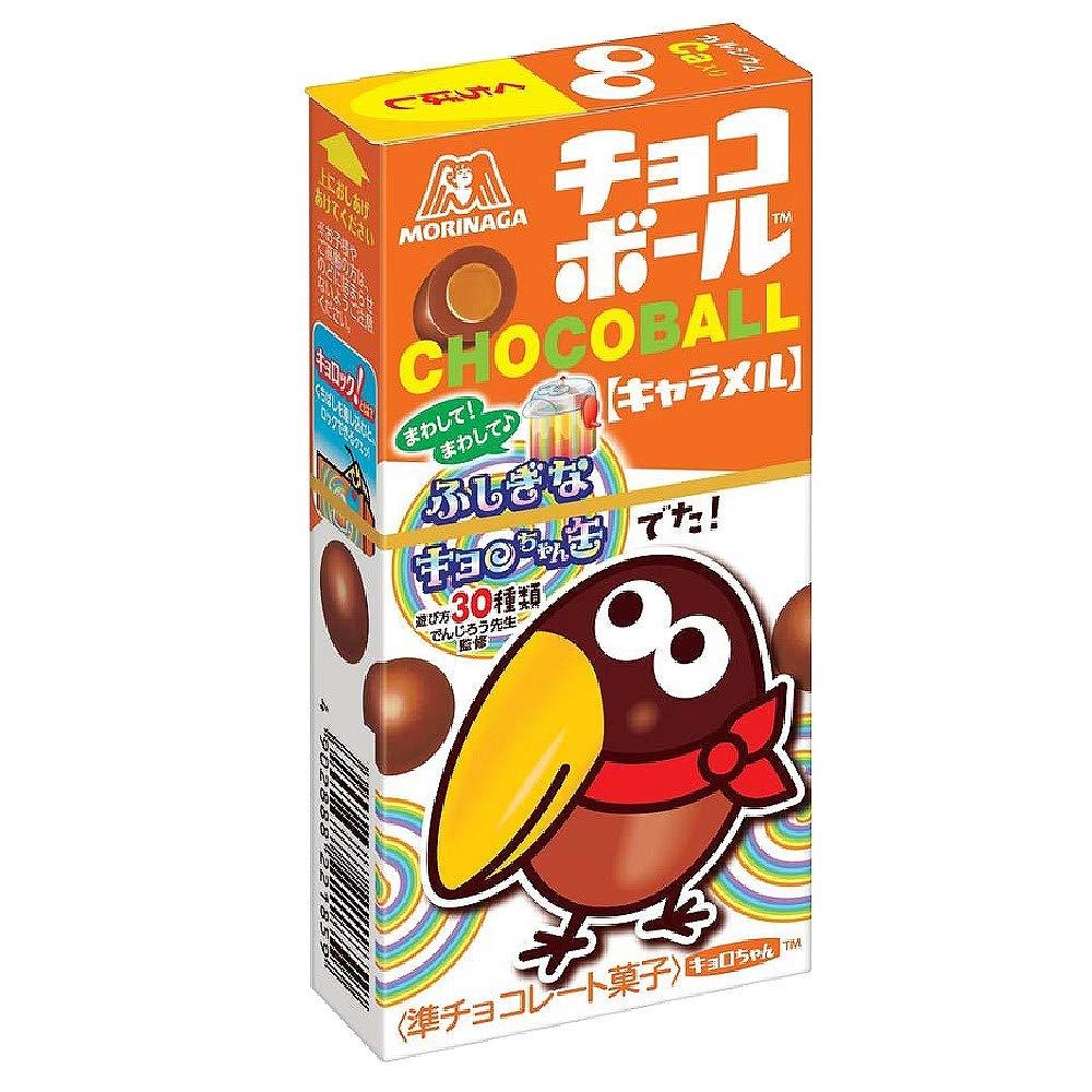 Morinaga Caramel Chocoball