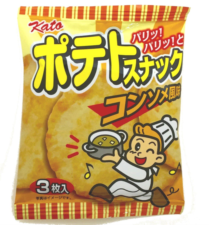 Consommé Flavor Potato Snack
