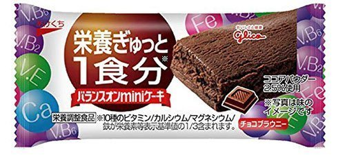 Glico Balance Mini Cake Chocolate Brownie